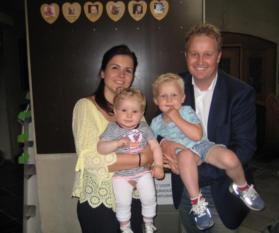 Lois, dochter van Tom Janssen en Marieke Peeters, 30-05-2019