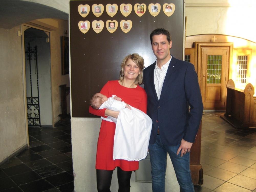 Teun, zoon van Felix Bruijnen en Marije Schep, 20-01-2019