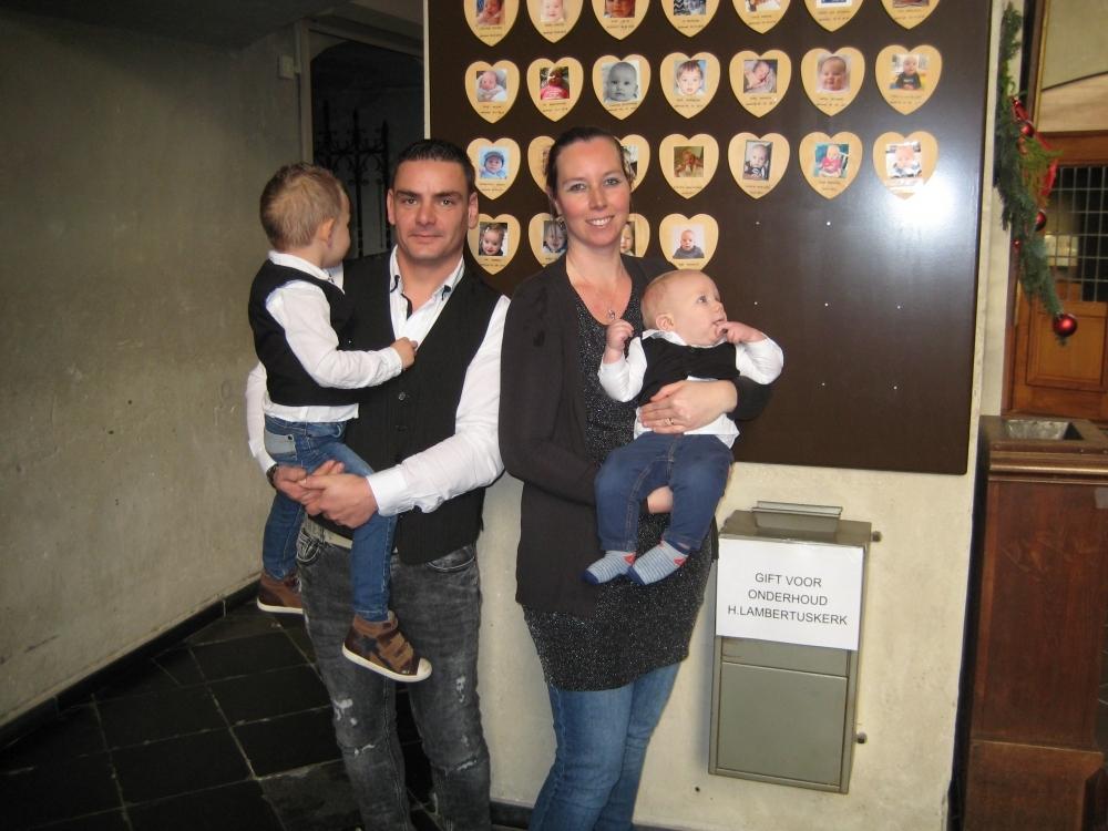 Raf, zoon van Peter Schulte en Yvonne Schulte, 7-1-2018