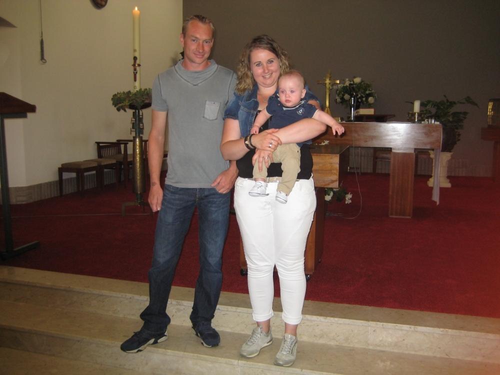 Tren, zoon van Joost Hunnekens en Nancy van de Winkel, 30-07-2017