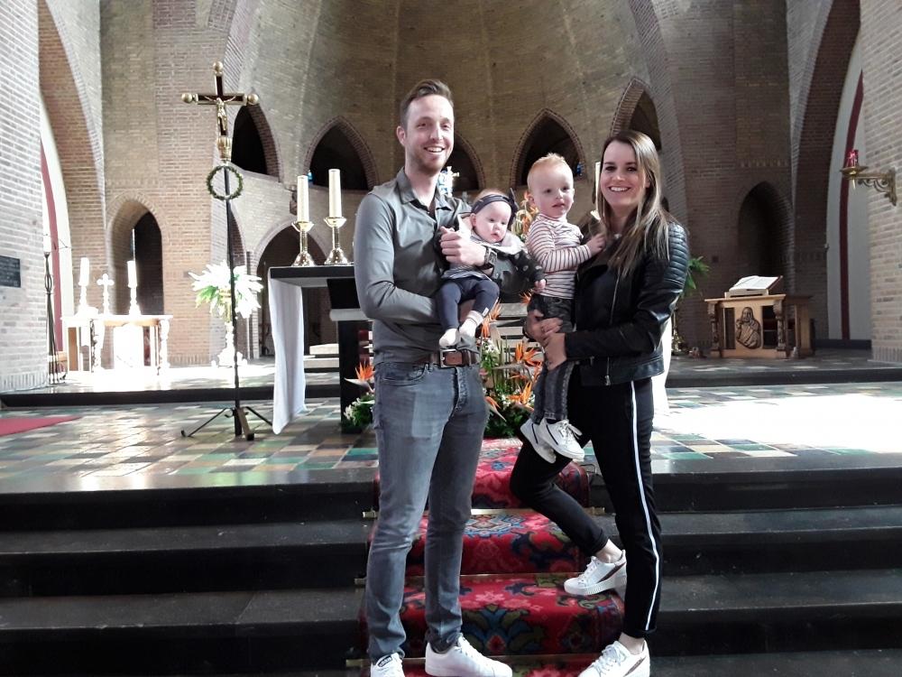 Maan, dochter van Ruud Vrenken en Marli Sijben,  05-05-2019